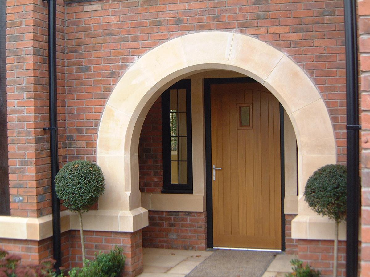 Stone Pillar Arch : Arches ilam stone